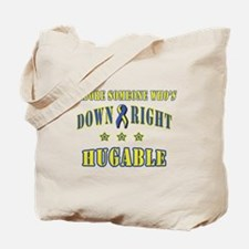Down Right Hugable Tote Bag