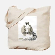 Ring-tail Lemur Tote Bag