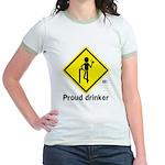 Drinking Jr. Ringer T-Shirt