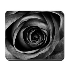 Black Rose Mousepad