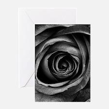 Black Rose Greeting Cards
