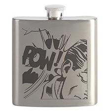 Vintage Comic Flask