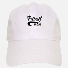 PITBULL MOM Baseball Baseball Cap