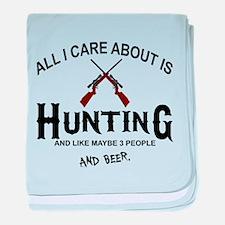 Hunting baby blanket