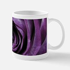 Purple Rose Decorative Flower Mugs