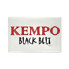 Kempo Black Belt 1 Rectangle Magnet