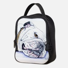 English Bulldog Neoprene Lunch Bag
