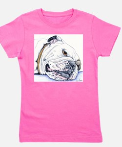 English Bulldog Girl's Tee