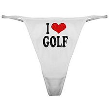 I Love Golf Classic Thong