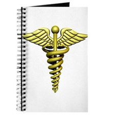 Golden Medical Symbol Journal