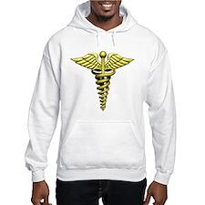Golden Medical Symbol Hoodie