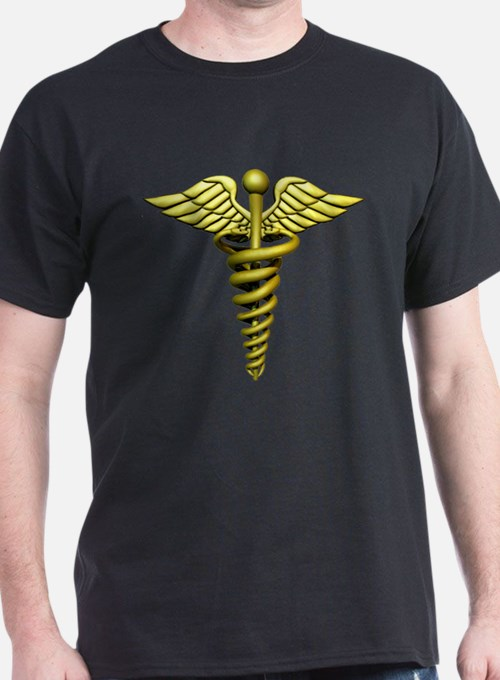 Golden Medical Symbol T-Shirt