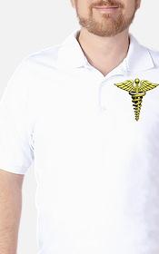 Golden Medical Symbol T-Shirt
