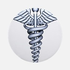 Medical Symbol Ornament (Round)