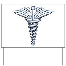 Medical Symbol Yard Sign