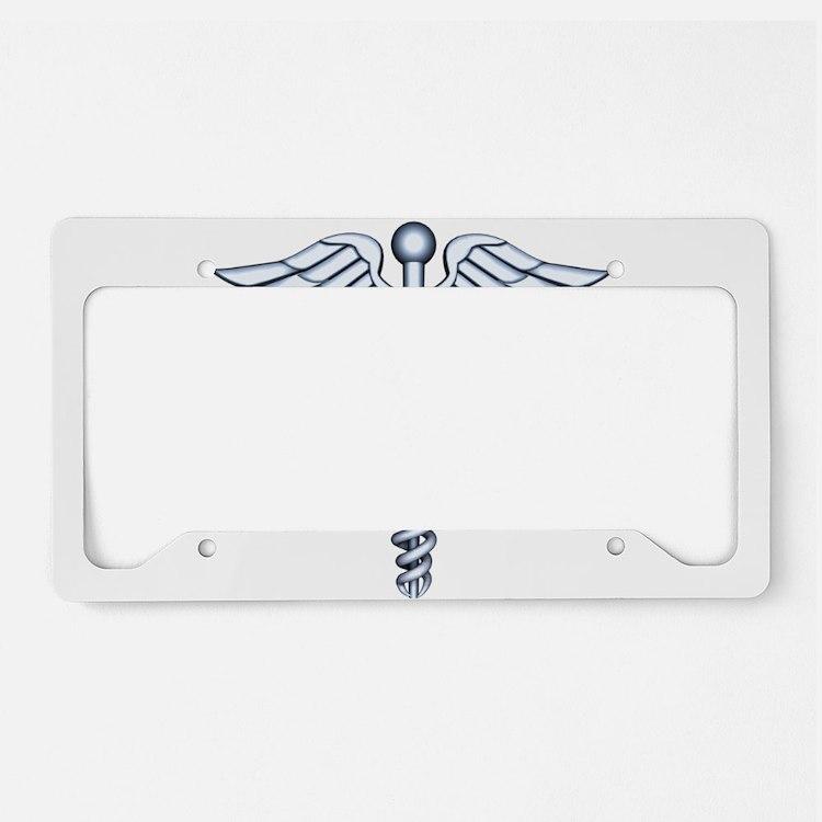 Medical Symbol License Plate Holder