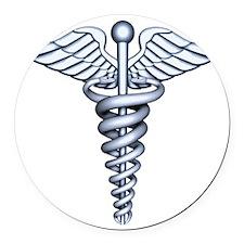 Medical Symbol Round Car Magnet