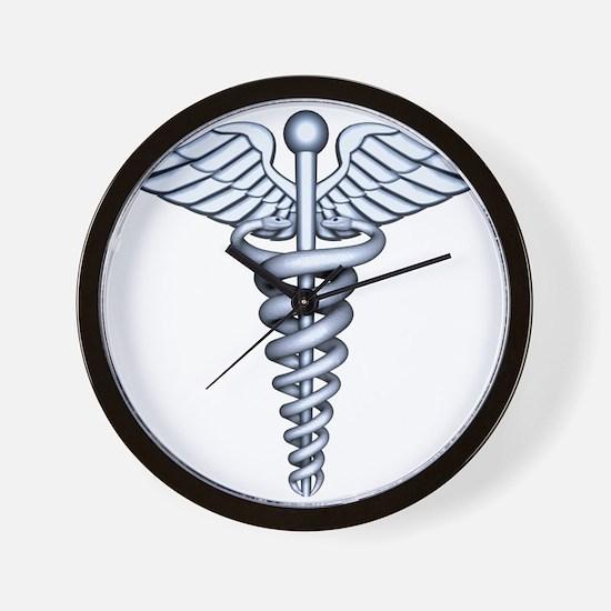 Medical Symbol Wall Clock