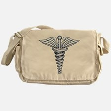 Medical Symbol Messenger Bag