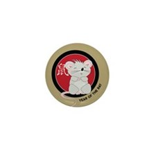 Year of the Rat Mini Button