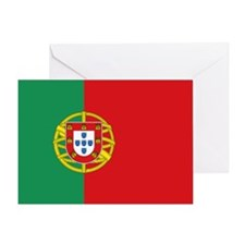Portugal Flag Card Greeting Cards