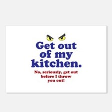 Get Out of my Kitchen Postcards (Package of 8)