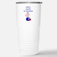 Cute Dart Travel Mug