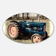 Antique Vintage Fordson Tractor Decal