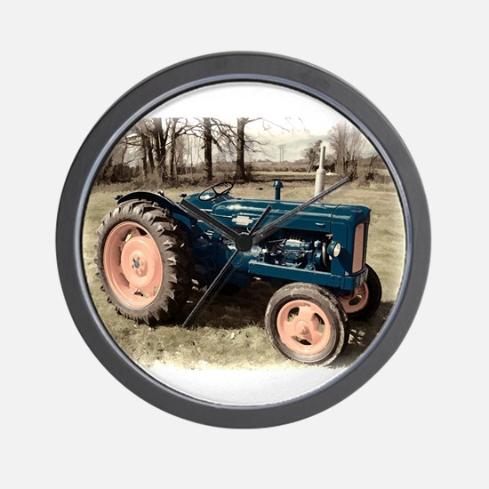 Antique Vintage Fordson Tractor Wall Clock