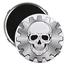 Gear Motor Skull Magnet
