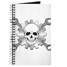Gear Motor Skull Journal