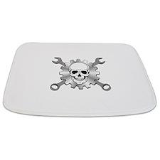 Gear Motor Skull Bathmat