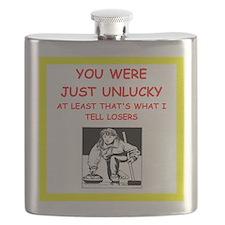 Cool I love curlers Flask