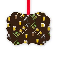 Beer Collage Ornament