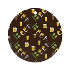 Beer Collage Ornament (Round)