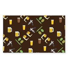 Beer Collage Decal