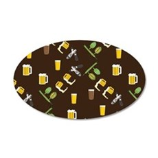 Beer Collage Wall Decal