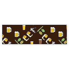 Beer Collage Bumper Sticker