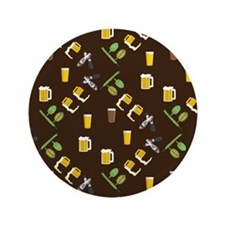 "Beer Collage 3.5"" Button (100 pack)"
