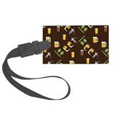 Beer Collage Luggage Tag