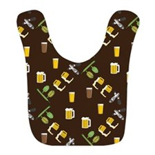 Beer Collage Bib