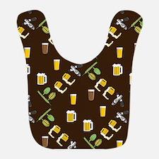 Beer Collage Bib
