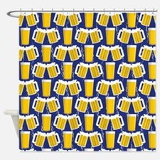 Beer Cheers Shower Curtain