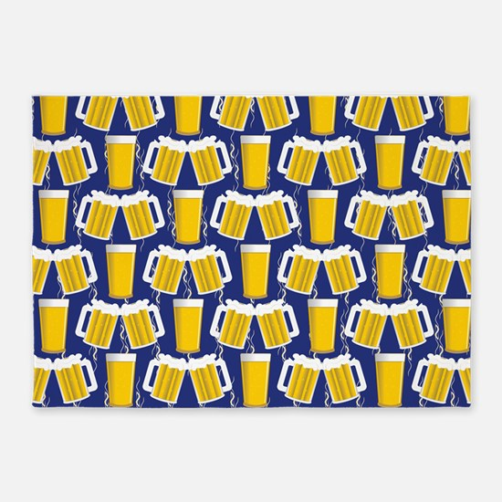Beer Cheers 5'x7'Area Rug