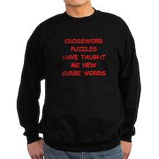 i love crossword puzles Sweatshirt