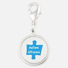 Practice Autism Altruism Blue Puzzle Charms