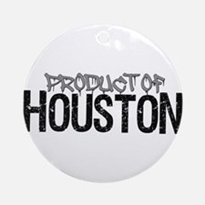Product Of Houston! Ornament (round)