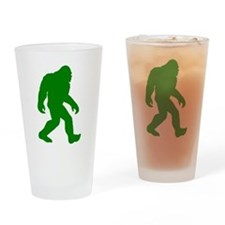 Bigfoot Silhouette Drinking Glass