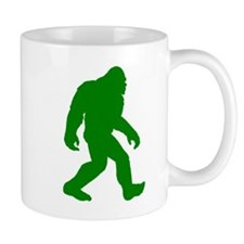 Bigfoot Silhouette Mugs