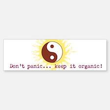 Don't Panic! (sticker) Bumper Bumper Bumper Sticker